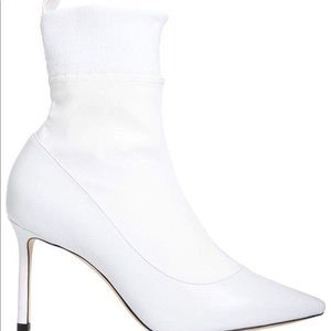 Jimmy Choo Booties ,Leather/stretched material